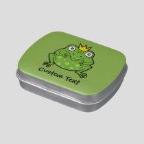 Frog Cartoon Candy Tin