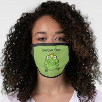 Frog Cartoon Face Mask