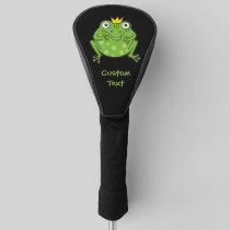 Frog Cartoon Golf Head Cover
