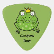 Frog Cartoon Guitar Pick