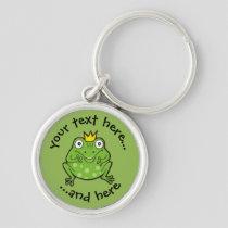 Frog Cartoon Keychain