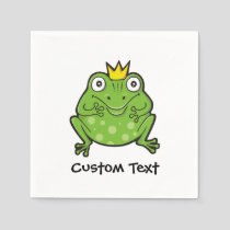 Frog Cartoon Napkins
