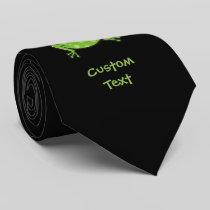 Frog Cartoon Neck Tie