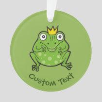 Frog Cartoon Ornament