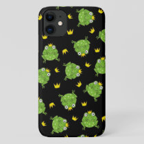 Frog Cartoon Pattern iPhone 11 Case