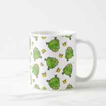 Frog Cartoon Pattern Coffee Mug