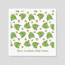 Frog Cartoon Pattern Napkins