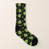 Frog Cartoon Pattern Socks