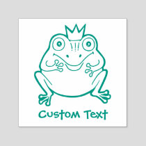 Frog Cartoon Self-inking Stamp