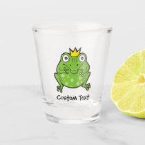 Frog Cartoon Shot Glass