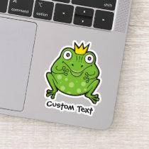 Frog Cartoon Sticker