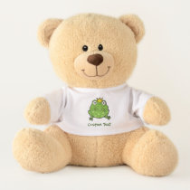 Frog Cartoon Teddy Bear