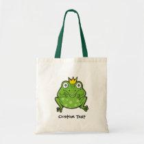 Frog Cartoon Tote Bag