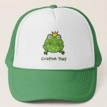 Frog Cartoon Trucker Hat