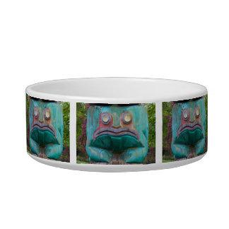 Frog Carving Bowl