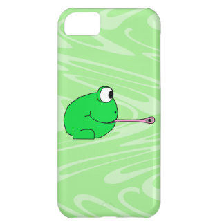 Frog Catching a Fly. iPhone 5C Cover