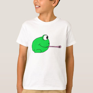 Frog catching a fly. T-Shirt