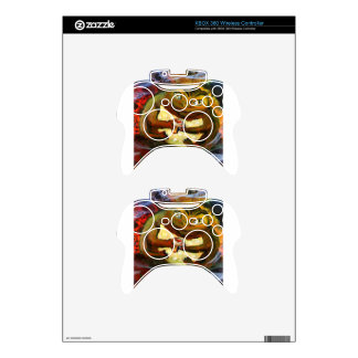 Frog celebrating with wine xbox 360 controller skin