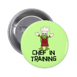 Frog Chef in Training Tshirts and Gifts Pins