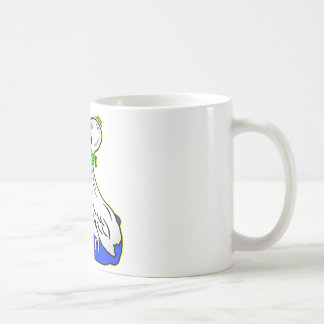 Frog Choking Bird Never Ever Give Up Mug