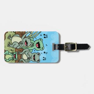 Frog Chorus Bag Tag