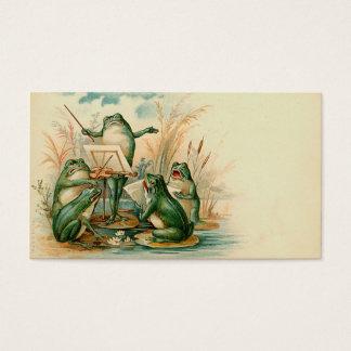 """""""Frog Chorus"""" Gift Tag"""