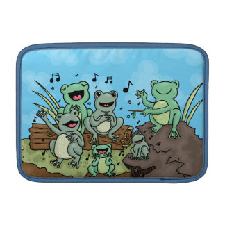 Frog Chorus MacBook Sleeve
