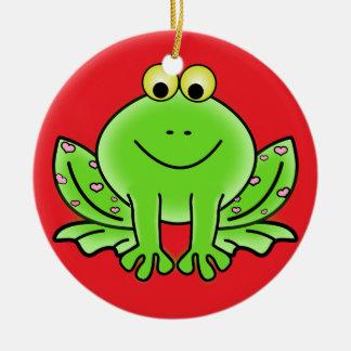 Frog Christmas Ornament