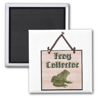 frog-collector refrigerator magnets