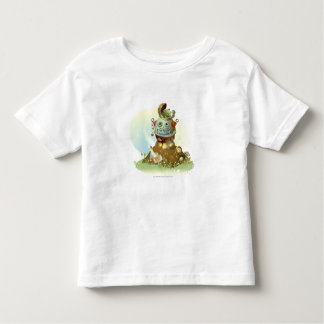Frog coming out from an UFO T-shirt