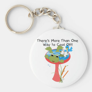 Frog Cool Off T-shirts and Gifts Keychain