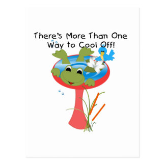 Frog Cool Off T-shirts and Gifts Postcard