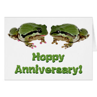Frog Couple Greeting Card