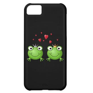 Frog Couple with hearts. iPhone 5C Cover