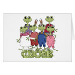 Frog Croak Tshirts and Gifts Cards