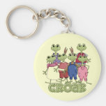 Frog Croak Tshirts and Gifts Key Chains