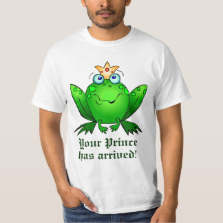 Frog Crown Your Prince has Arrived T-Shirt