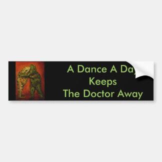 Frog Dancers Bumper Sticker
