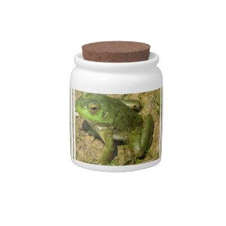 Frog Design  Candy Jar