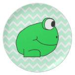 Frog. Dinner Plates