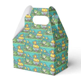 FROG & DUCK EASTER EGG GABLE FAVOR BOX Repeat