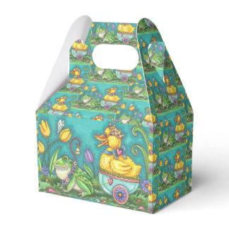 FROG & DUCK PRINCE EASTER EGG GABLE FAVOR BOX
