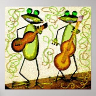 Frog Duet Posters