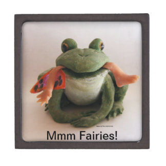 Frog Eating a Fairy box