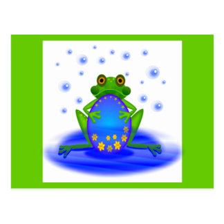 Frog &  Egg Postcard
