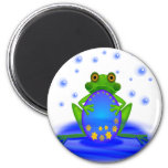 Frog &  Egg Refrigerator Magnets