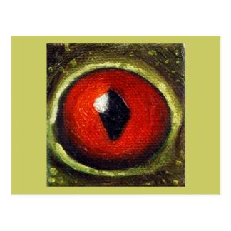 Frog Eye Enlarged Postcard