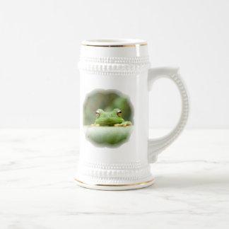Frog Eyes Beer Stein Coffee Mugs
