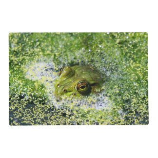 Frog Eyes in a Pond Placemat