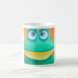 Frog face cute illustration picture coffee mugs